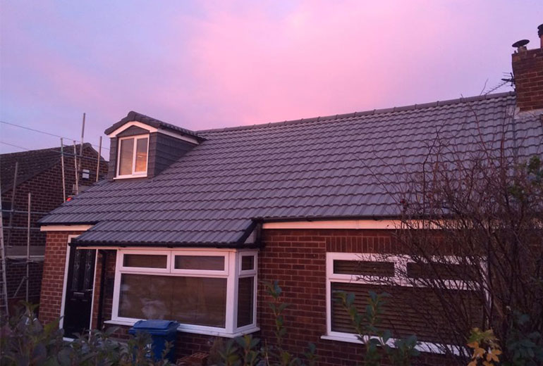 Dormer Bungalow Roof