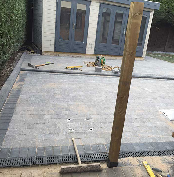 Indian Sandstone and Driveways in Stockton Heath
