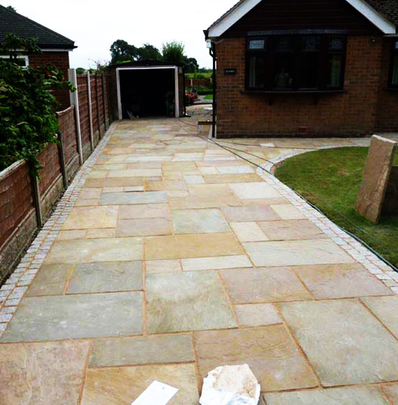 Driveways and Patios in Warrington