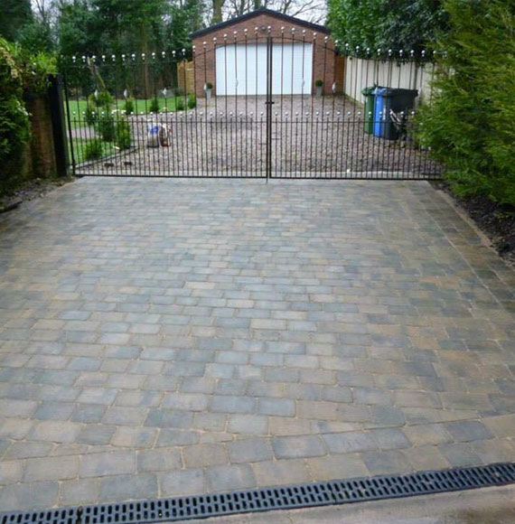 Driveways and Patios in Newton-Le-Willows