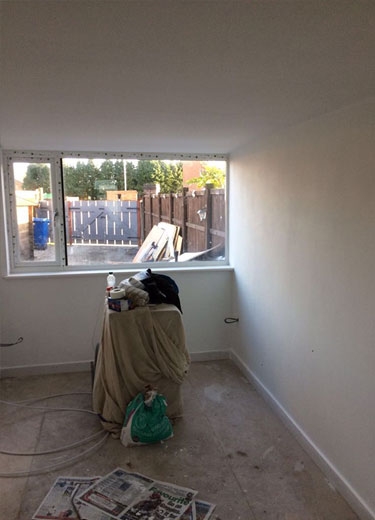 Garage Conversion   Lowton, Warrington